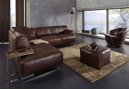 alessiio | wax leather: chocolate